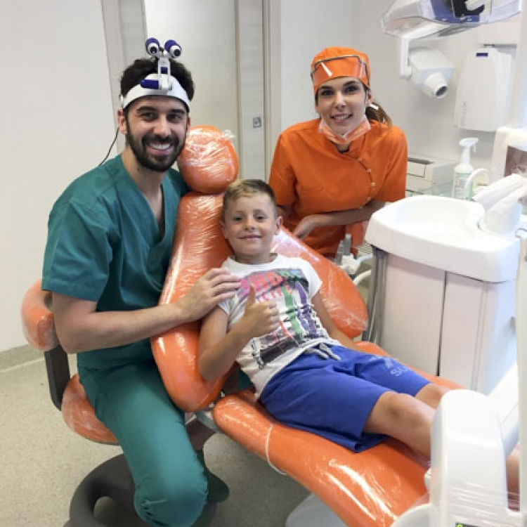 Studio dentistico pediatrico a Montagnana | Clinica Dentale Mantoan